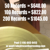 New Low Prices For Record Pressing