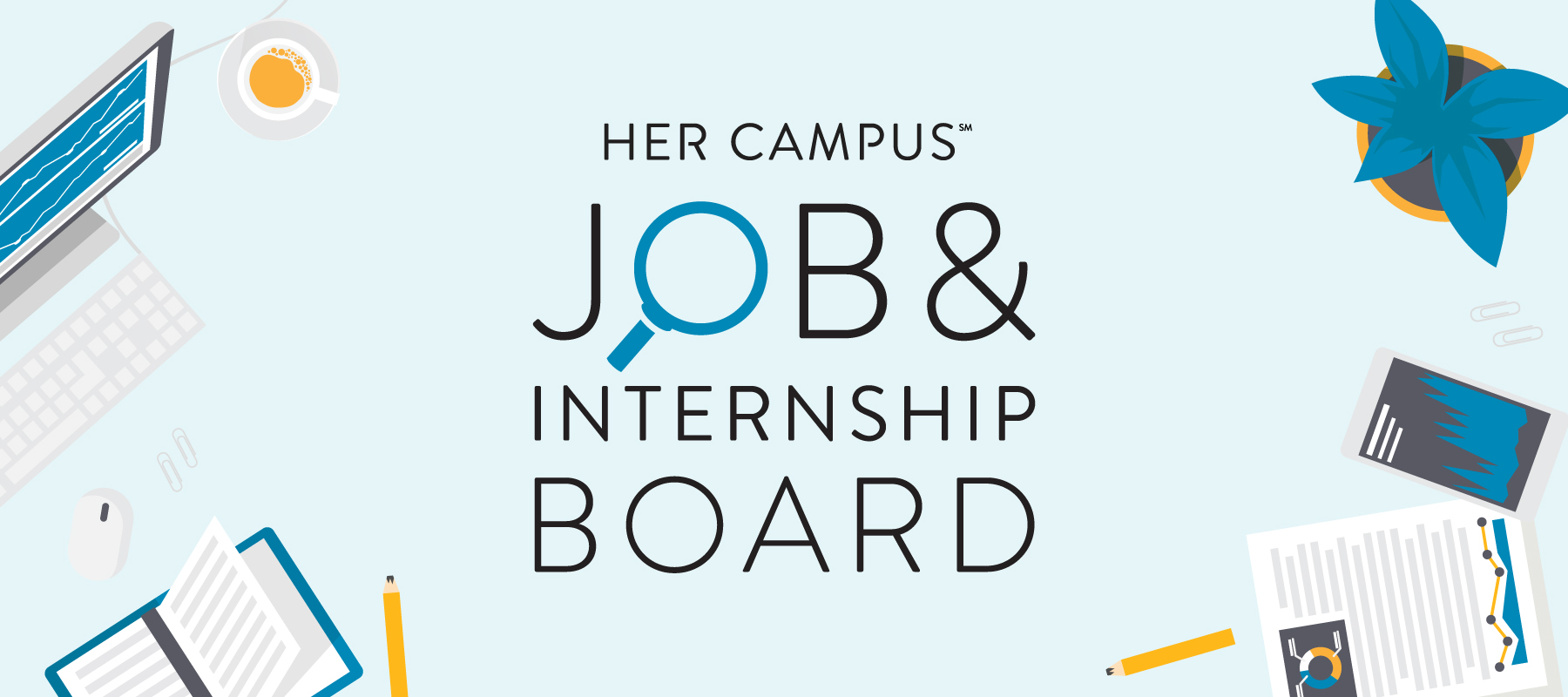 job internship board her campus marketing intern