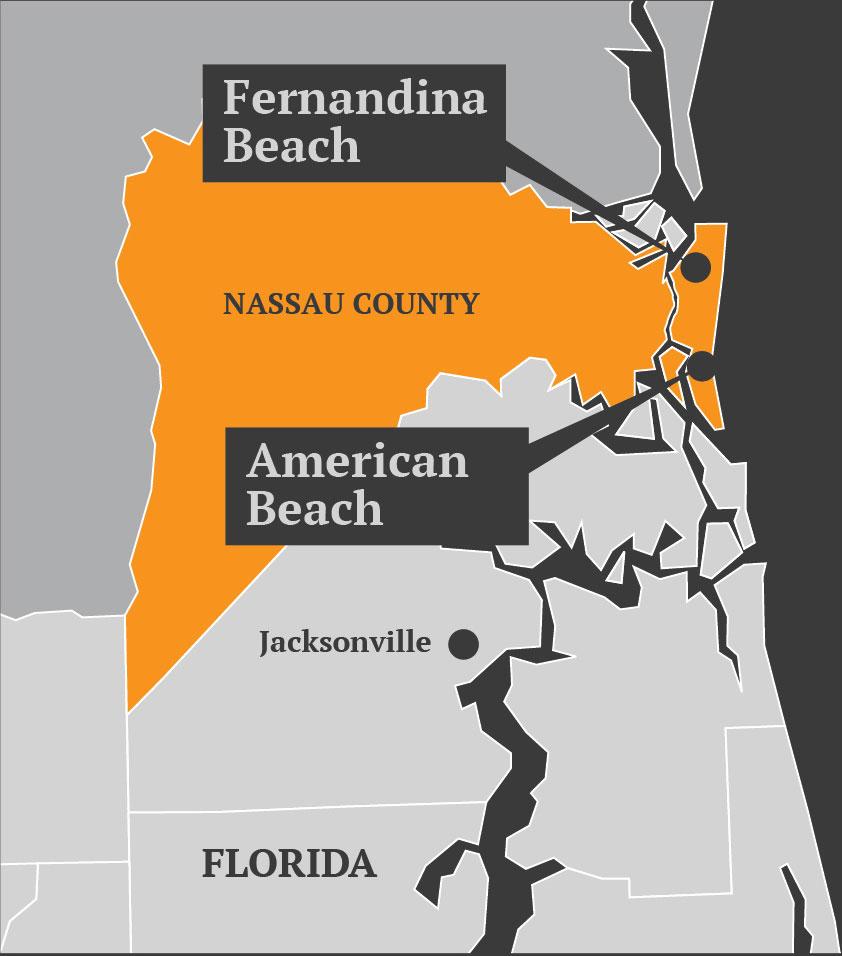 Nassau county map