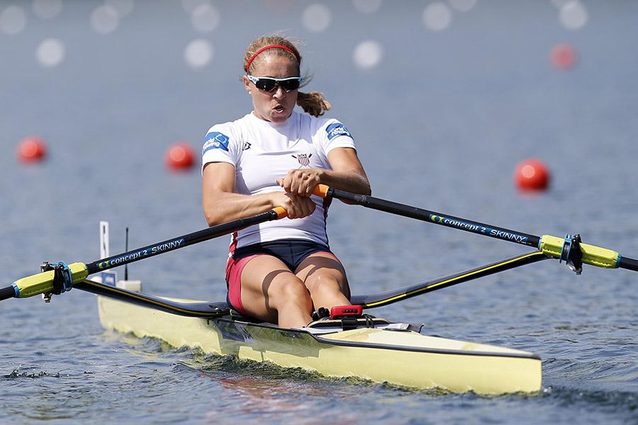 Genevra Stone olympic rowing