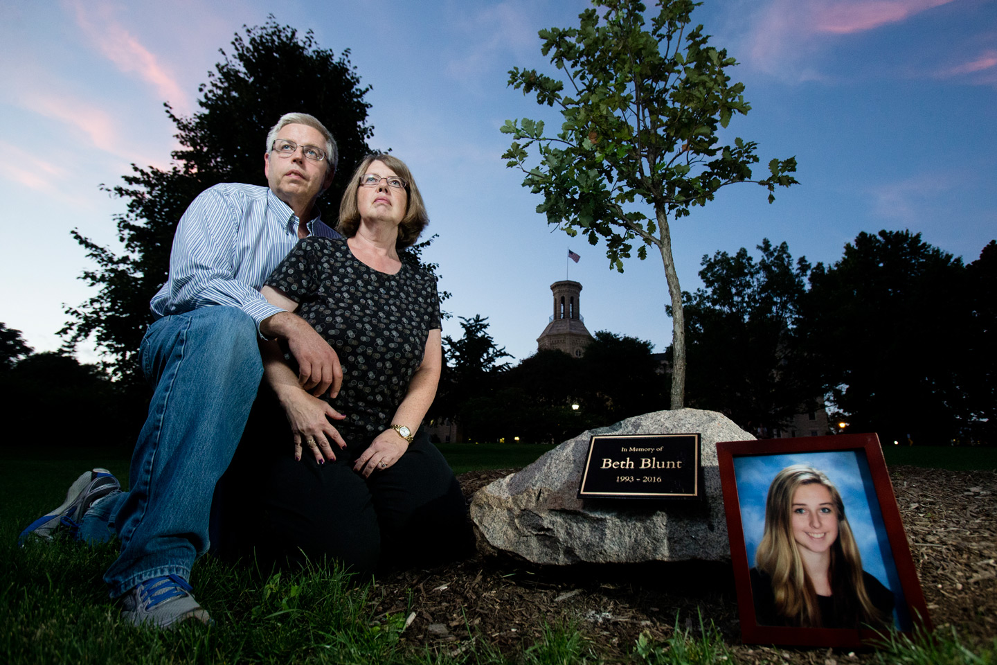Lisa and Terry Blunt say that when their 22-year-old daughter, Beth, lost her battle with addiction, it was important to share that in her obituary to create awareness about the heroin crisis in America.