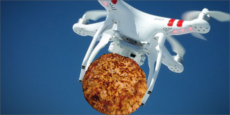 Dominos New Drone Announcement Delivery Game Changer