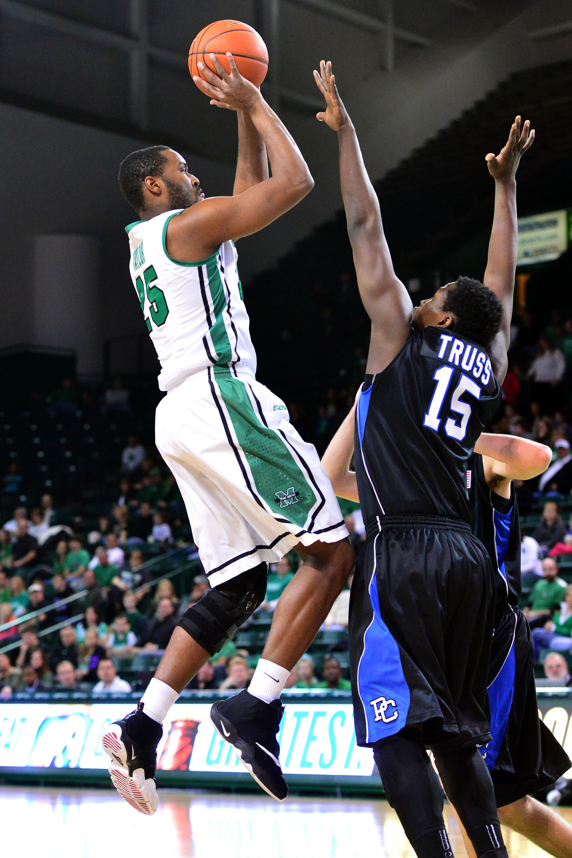 Ryan Taylor will look to be a force for the Herd on both ends of the floor