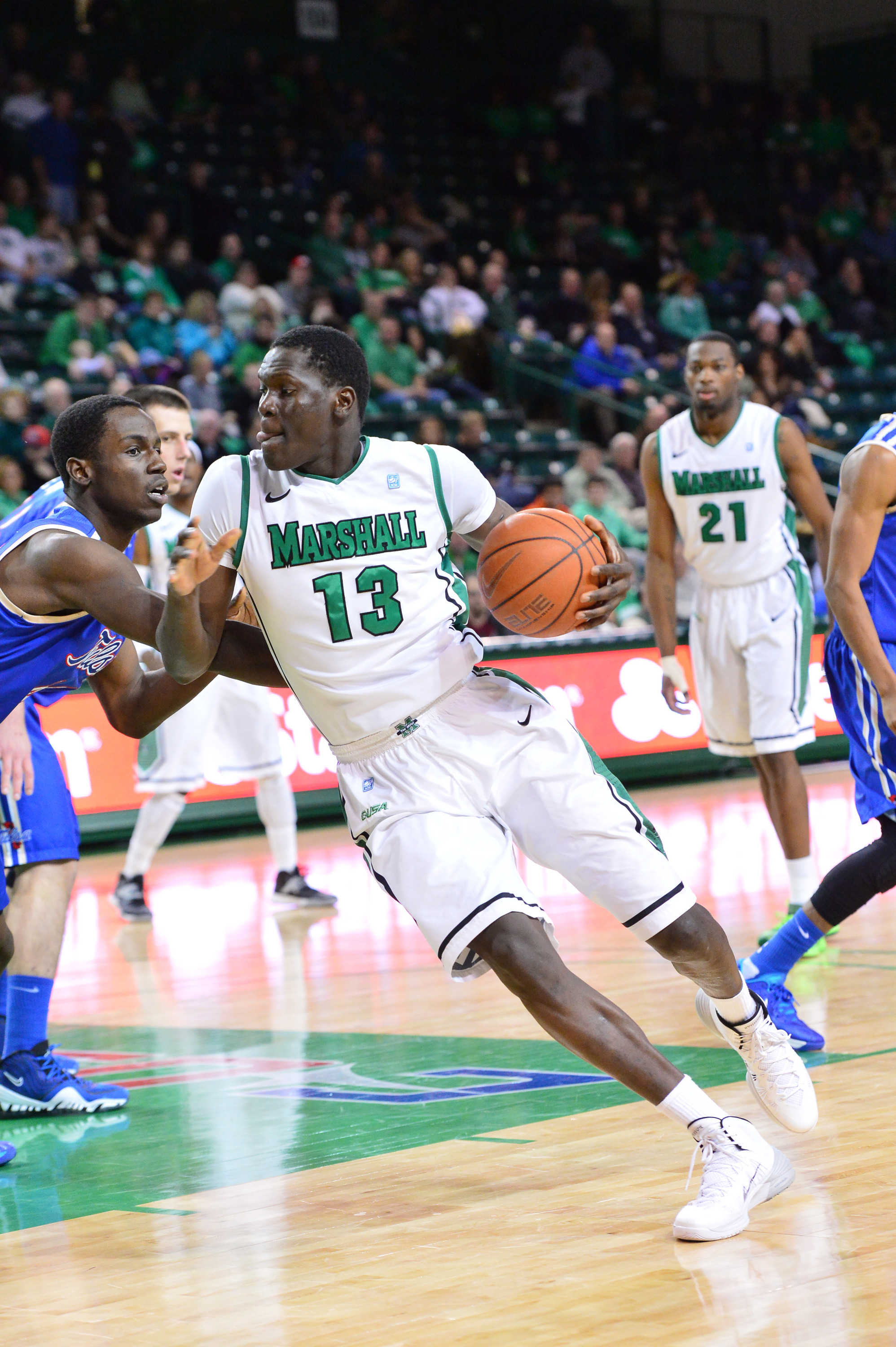 Cheikh Sane set a career high with 11 points on the afternoon.