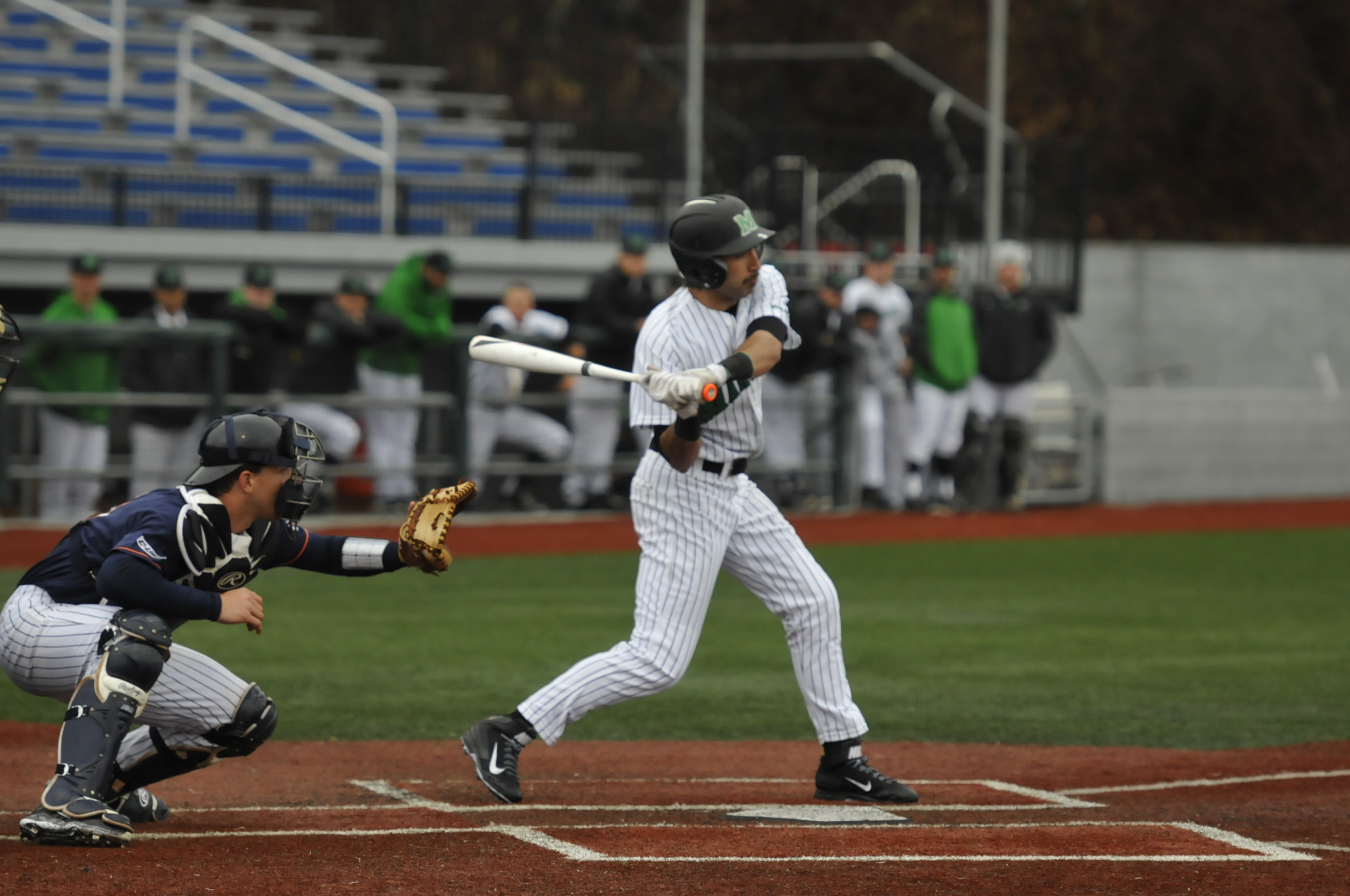 Junior DJ Gee was 2-for-3 with a run