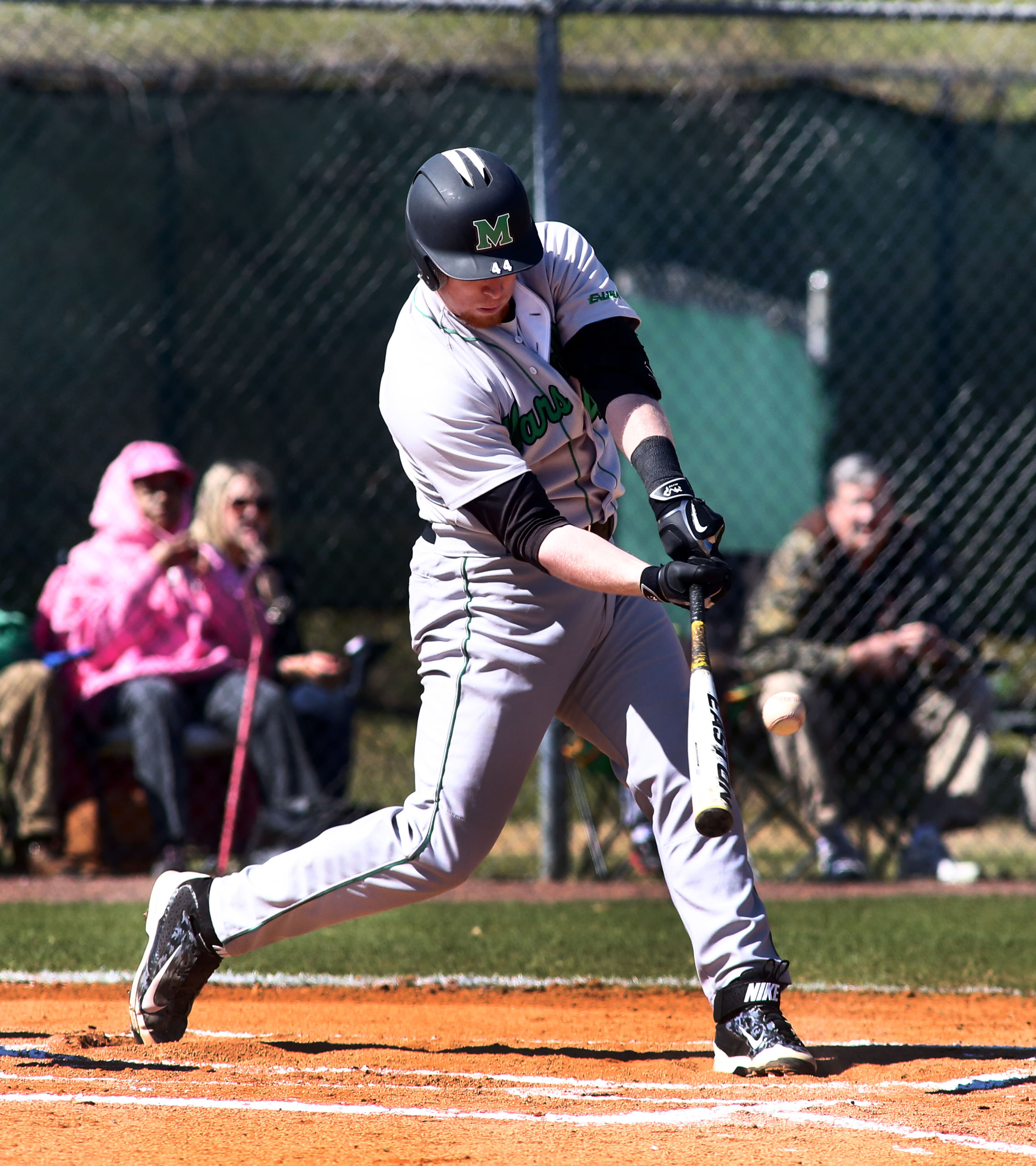Diffenderfer hit a double and triple with four RBI
