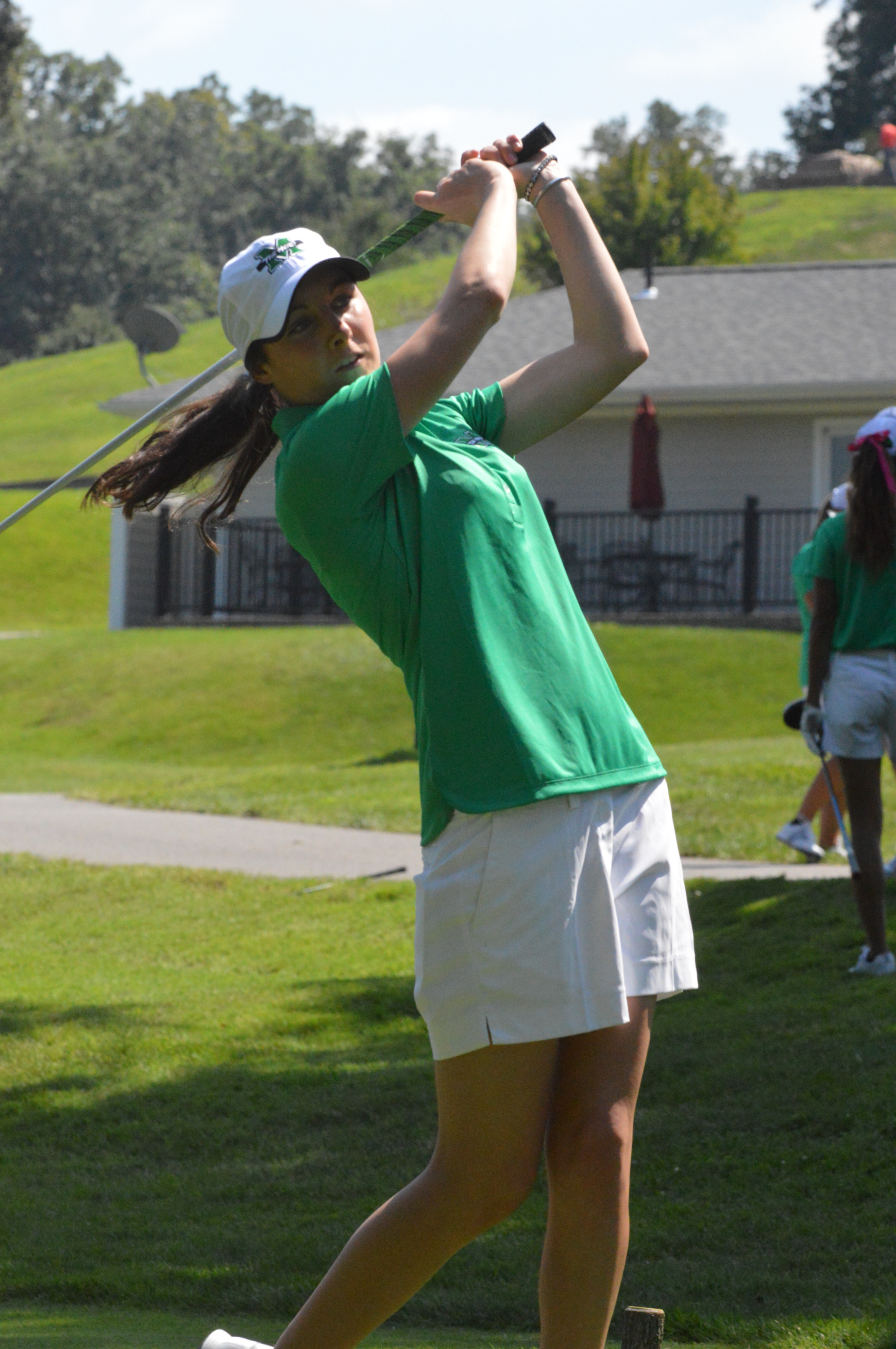 Helly is the first female golfer in school history to earn All-C-USA honors.