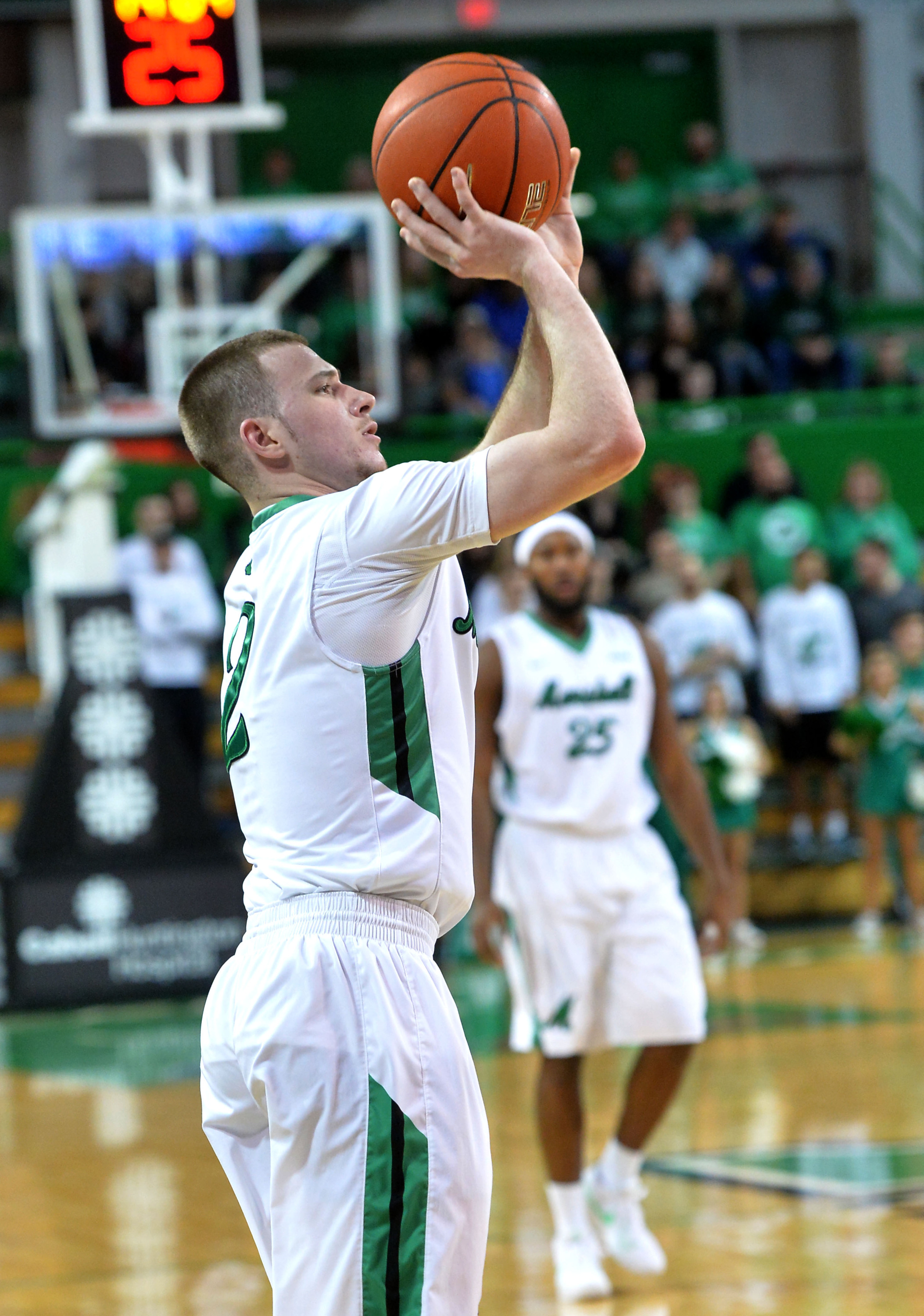 Stevie Browning is riding a nine-game streak of double-figure scoring (15.3 ppg in those games).