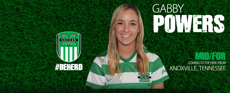 Powers enrolled at Marshall in January and is eligible to play for the Herd starting this spring.