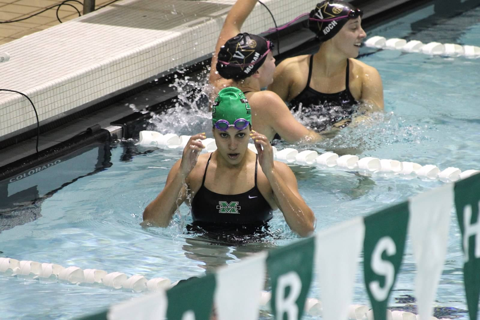 Mavrova reset the pool record in the 50 freestyle.