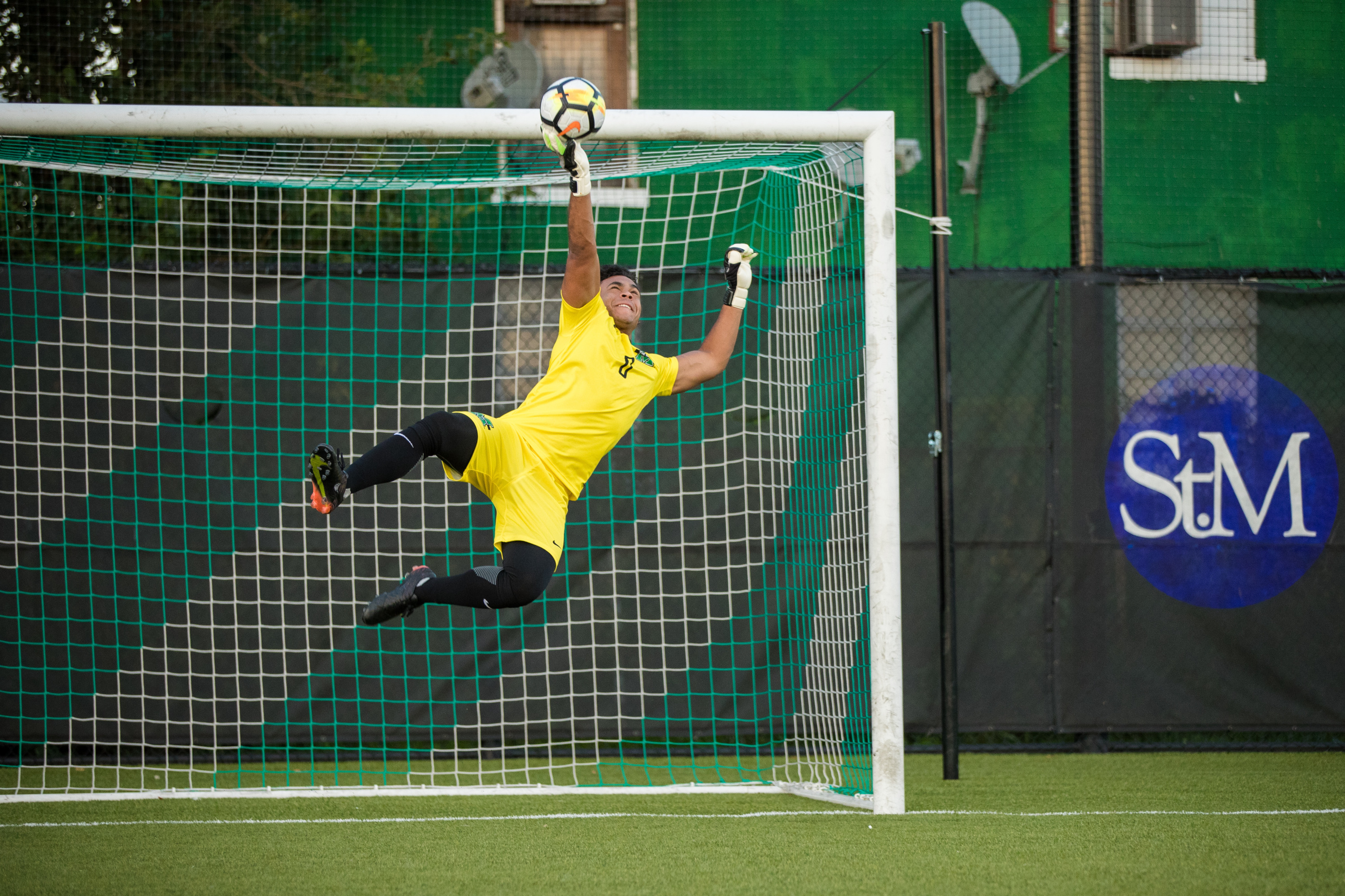 Senior goalkeeper Nate Himes was named Conference USA Defensive Player of the Week on Oct. 16.
