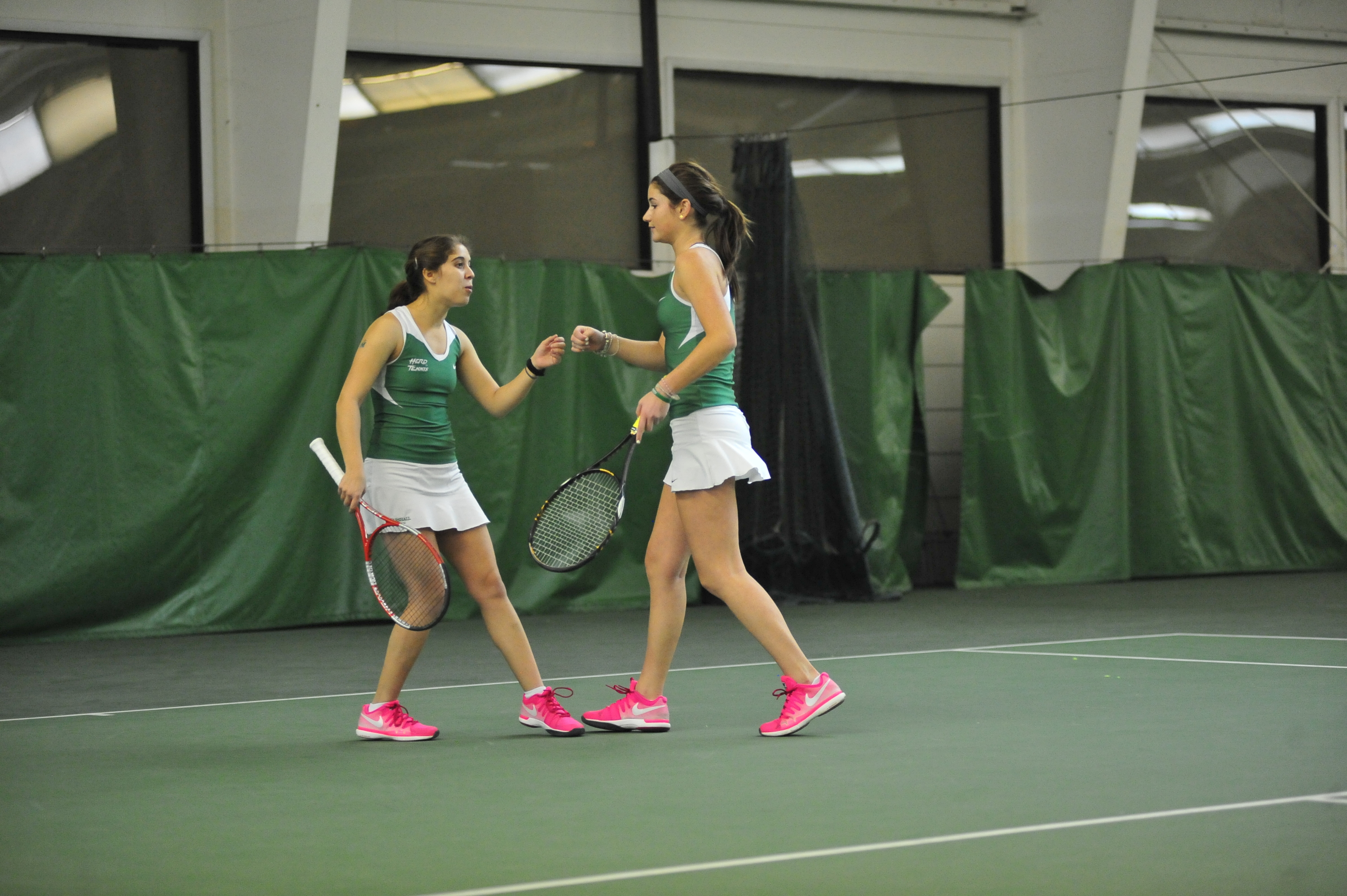 Maddie Silver and Rachael Morales have won 15 consecutive doubles matches during dual match play. The streak dates back to the 2015 season.