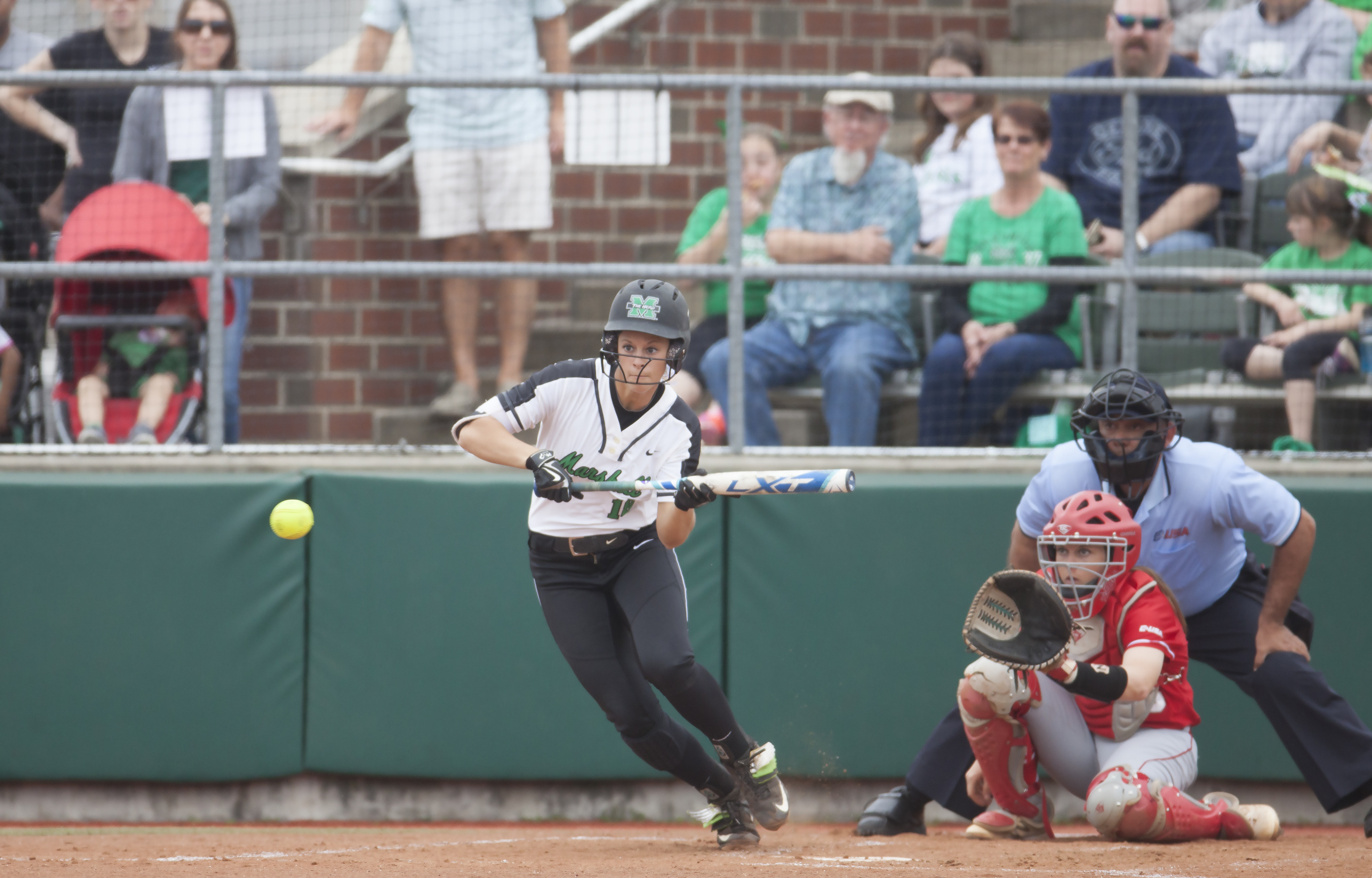 Senior Morgan Zerkle drove in five runs combined during the two wins over Wright State.