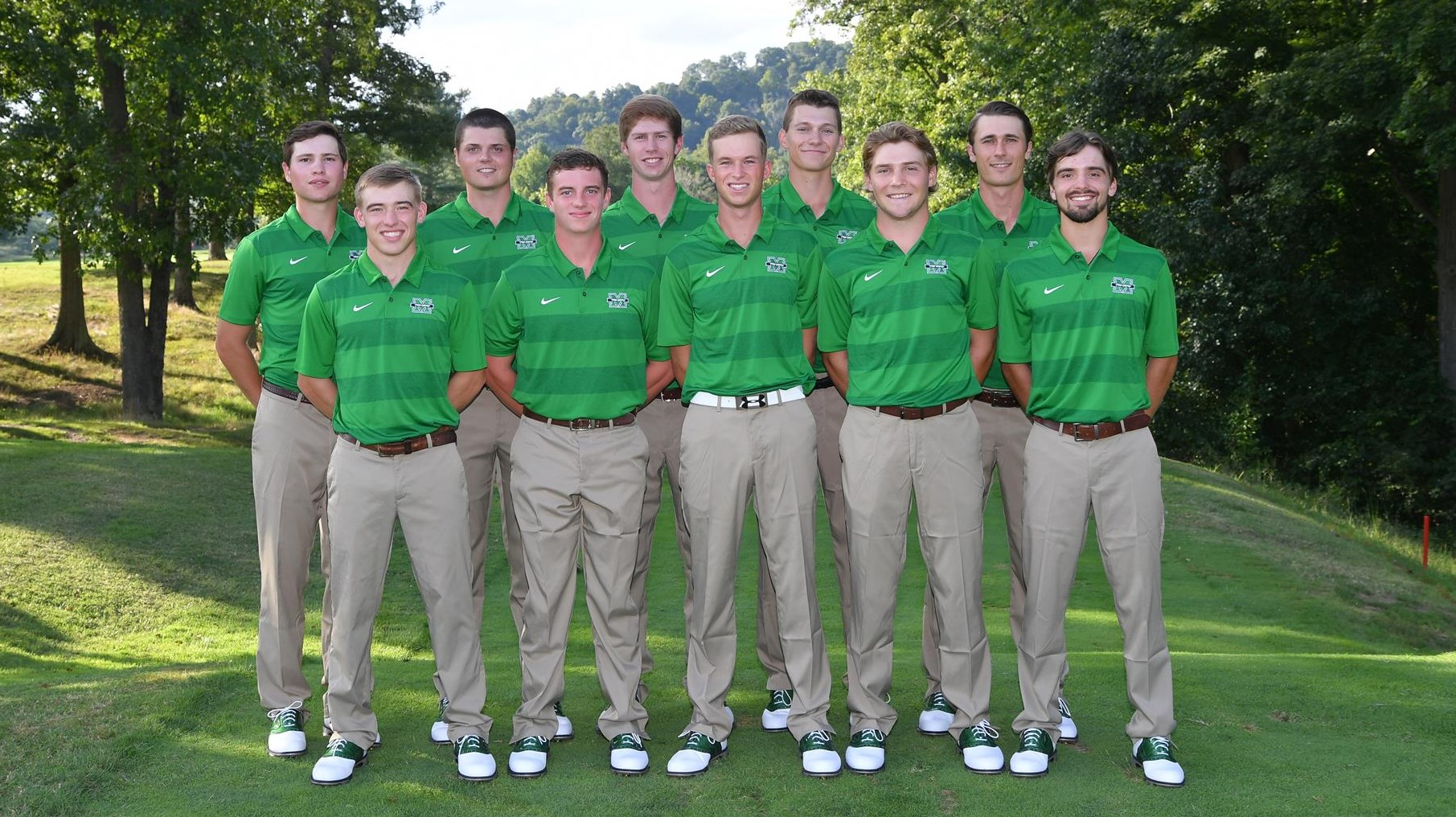 2018 Men's Golf team