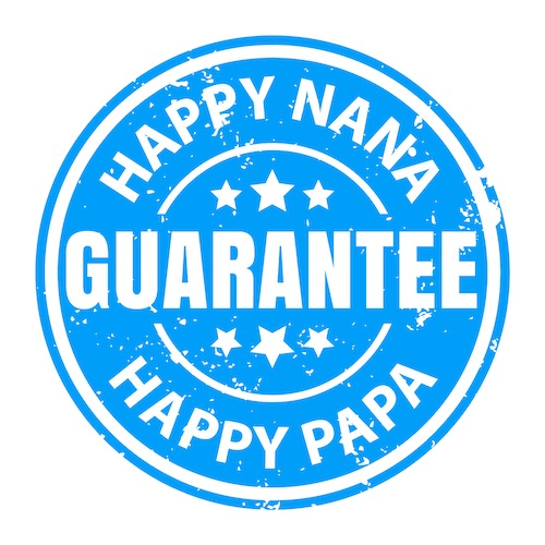 NanaGram moneyback guarantee seal
