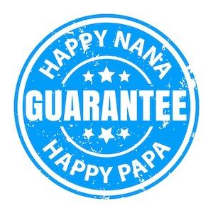 NanaGram moneyback guarantee seal