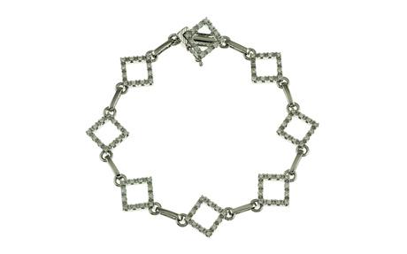 Armschmuck 750/- Weißgold mit Diamanten