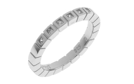 ESPRIT Ring 925/- Sterlingsilber mit Zirkonia