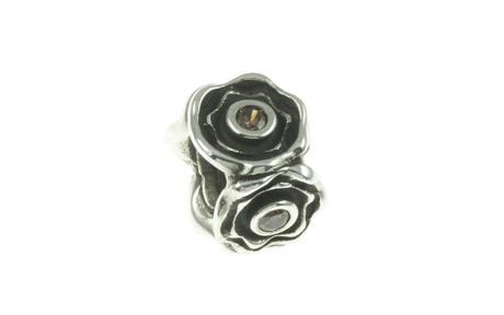 PANDORA Element Blütenform 925/- Sterlingsilber mit Zirkonia