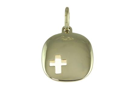Pomellato Anhänger Kreuz 750/- Weißgold