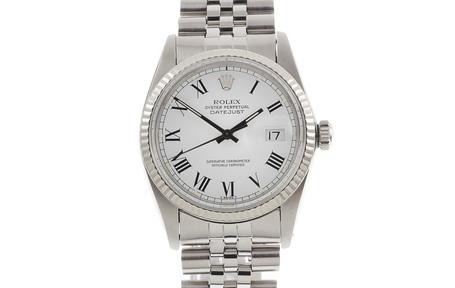 Rolex Datejust Referenz 16014 Automatik Edelstahl