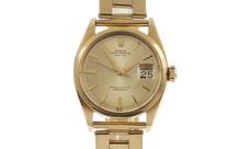 Rolex Date Ref. 6534 Automatik 750/- Gelbgold