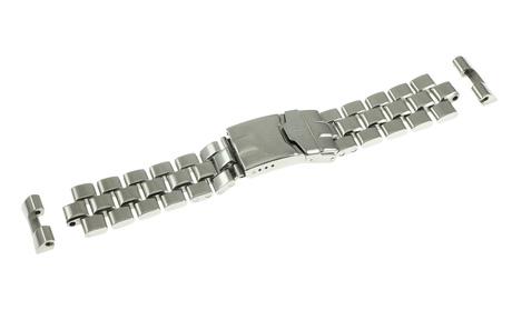 Breitling Armband Edelstahl mit Sicherheitsfaltschließe 20/18 mm