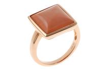Ring 750/- Rotgold mit Koralle