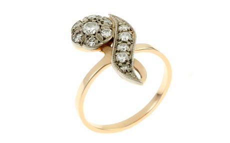 Ring 583/- Rotgold