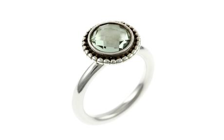 PANDORA Ring 925/- Sterlingsilber mit Amethyst