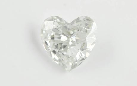1 Diamant Herz 0,76 ct. G/si1