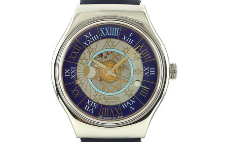 Swatch Tresor Magique 950/- Platin Automatik