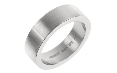 Niessing Ring 950/- Platin