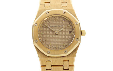 Audemars Piguet Royal Oak Ref. BA66701722 Quarz 750/- Gelbgold