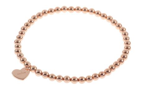 Ratius Armband flexibel 925/- Sterlingsilber rosé vergoldet