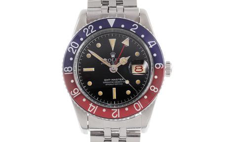 Rolex GMT-Master Ref. 6542 Automatik Edelstahl