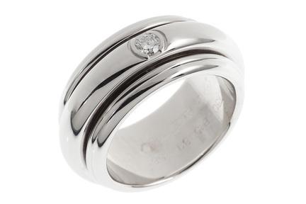 Piaget Ring Possession 750/- Weißgold mit Diamant