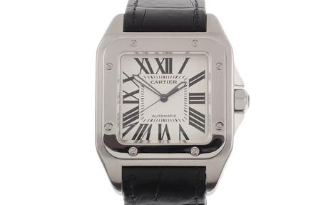 Cartier Santos 100 Ref. 2656 Automatik Edelstahl
