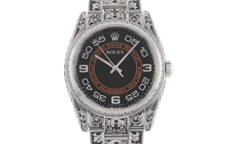 Rolex Oyster Perpetual Ref. 116000 Automatik Edelstahl