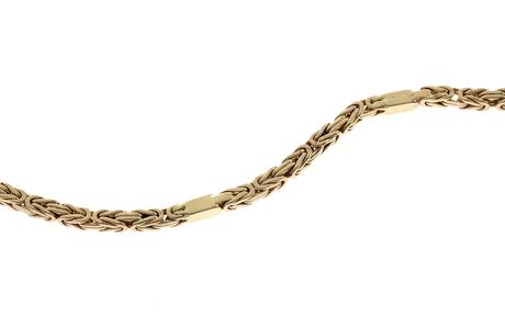 Königskette 585/- Gelbgold