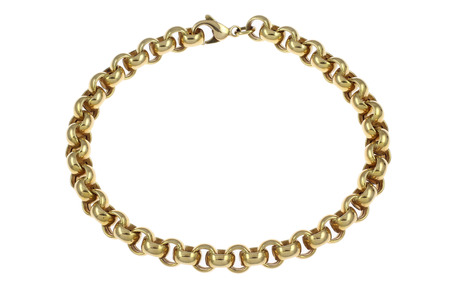Erbsarmband 750/- Gelbgold