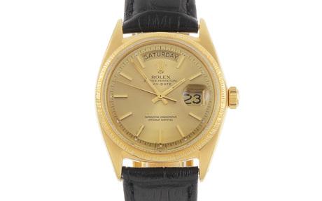 Rolex Day-Date Ref. 1807 Automatik 750/- Gelbgold