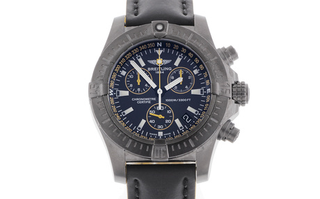 Breitling Avenger Seawolf Chronograph Blacksteel Limited Edition Ref. M73390