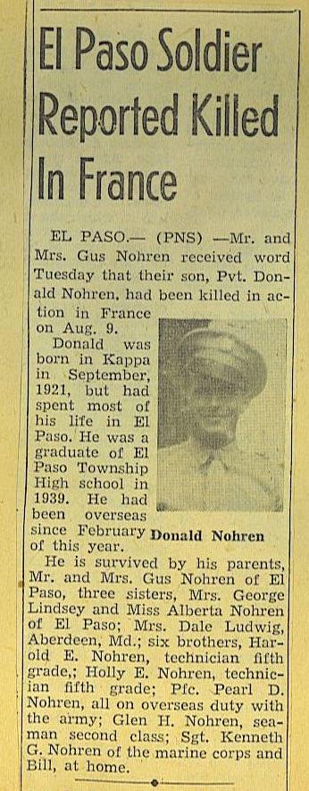 Donald nohren