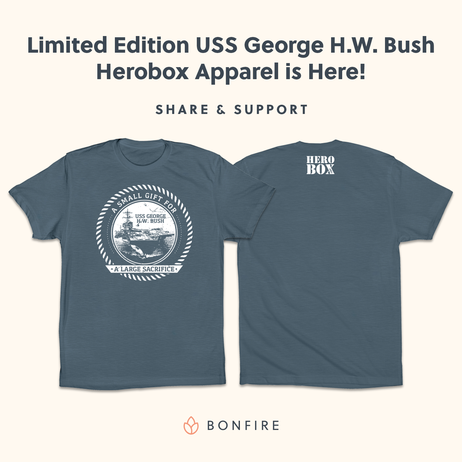 Help Support the USS George H. W. Bush Naval Fleet!