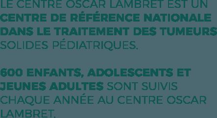 1er centre de traitement des cancers pédiatrique