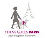 Logo Chiens guides de Paris lien vers le site