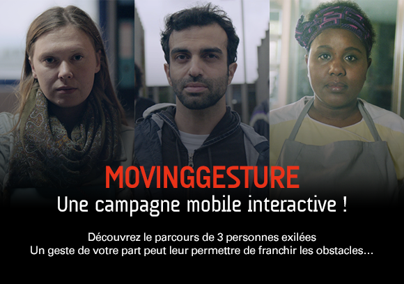 MovingGesture, une campagne mobile interactive !