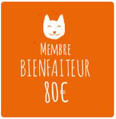 Membre bienfaiteur:80€