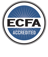 Ecfa accredited with tagline